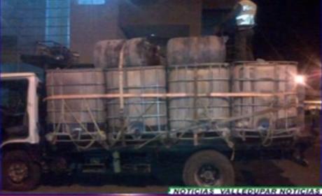 Ejército propinó un fuerte golpe al tráfico de combustible ilegal en el cesar y laguajira.