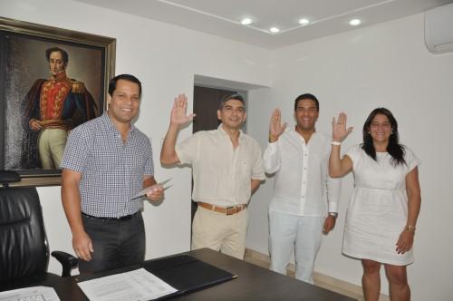 Se posesionaron tres integrantes del gabinetedepartamental