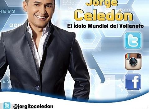 Jorge Celedón oficializa sus redes sociales, para evitar lasuplantación
