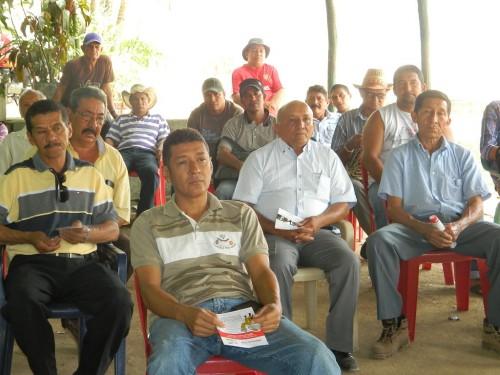 Productores de Atánquez y La Mina se capacitan en prevención de rabiasilvestre