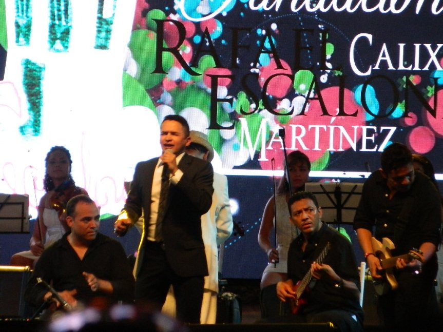vallenatos con sinfónica en conmemoración deEscalona