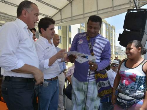 Se entregaron las primeras 520 viviendas gratuitas en la Urbanización LorenzoMorales