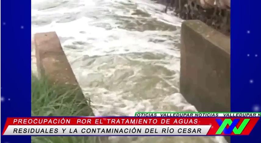 Preocupación por el tratamiento de aguas residuales y la contaminación del RíoCesar