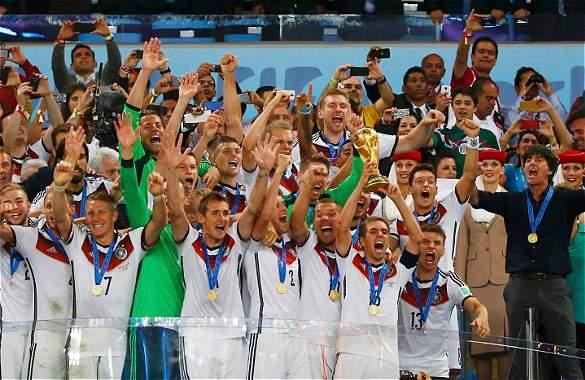 Alemania tetracampeón, Brasil2014