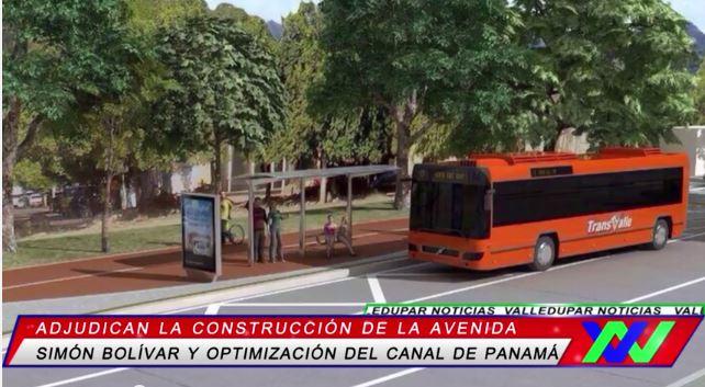 Adjudican la construcción de la avenida Simón Bolívar deValledupar