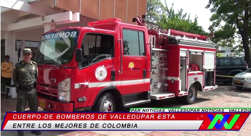 Cuerpo de bomberos de Valledupar está entre los mejores deColombia