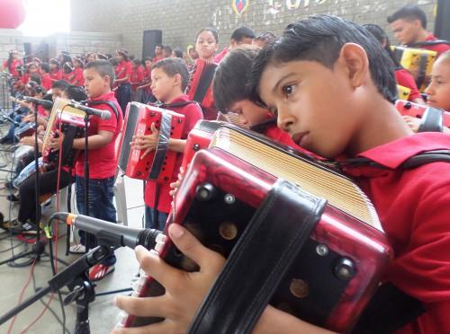 150 alumnos en exitoso monitoreo de músicavallenata