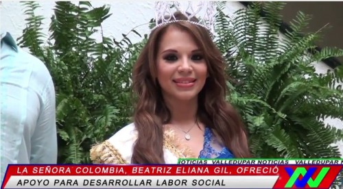 Señora Colombia, una vallenataaltruísta