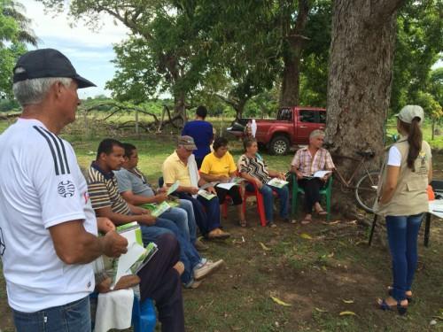 La Unidad de Restitución de Tierras adelantó jornadas de socialización enCurumaní