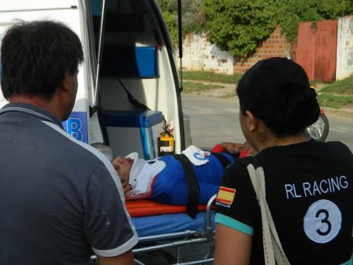 Un joven mototaxista resultó herido en accidente al norte deValledupar