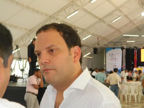 Andrés Santamaría, Presidente de Fenalper, pidió recursos para lasPersonerías