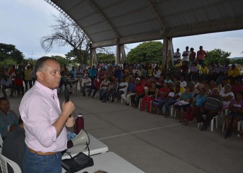 Alcalde Socarrás escuchó a arroceros enBadillo