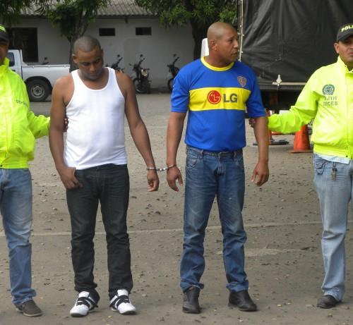 Capturados dos dominicanos enValledupar
