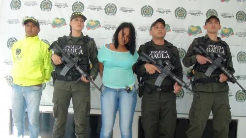 "Capturada alias ""LaBruja"""