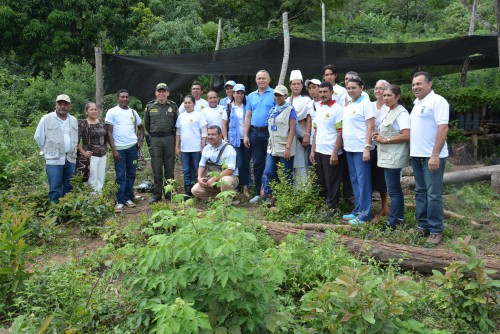 Alcaldía, PNUD y campesinos construyen laboratorio de paz en La CubaPutumayo