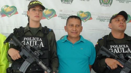 """Capturan al cabecilla de """"Los Wichos"""" por el delito de secuestroextorsivo"""