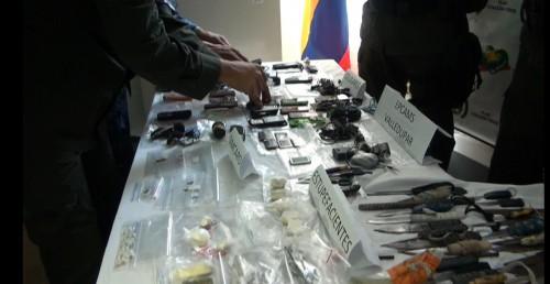 """""""Operación Demoledor fase III"""" en la cárcel de alta y mediana seguridad deValledupar"""