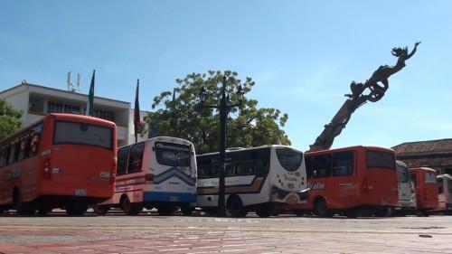 Paro del transporte público enValledupar