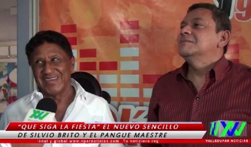 """Silvio Brito y """"El Pangue"""" Maestre: """"Que siga lafiesta"""""""