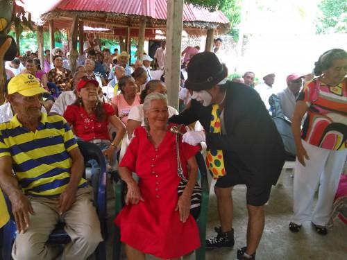 Jornada cultural para adultos mayores de Mariangola y AguasBlancas