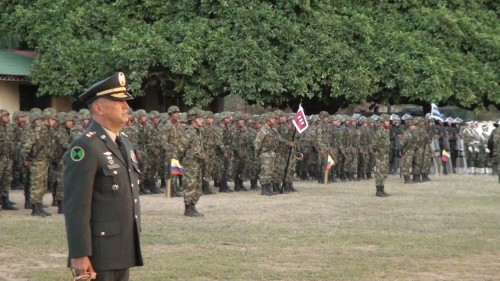 El Brigadier General Jorge Navarrete asumió el mando de la decima brigadablindada