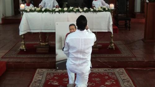 Con una misa inició conmemoración del primer aniversario de la muerte de DiomedesDíaz