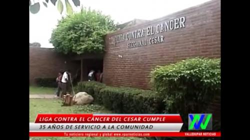 35 años de servicio a la comunidad cumple la liga contra el cáncer delCesar