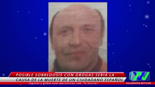 Muere ciudadano español en hotel deValledupar