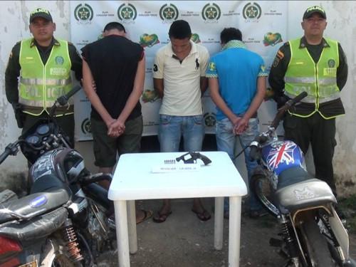 Capturados tres sujetos que habían cometido un atraco a manoarmada