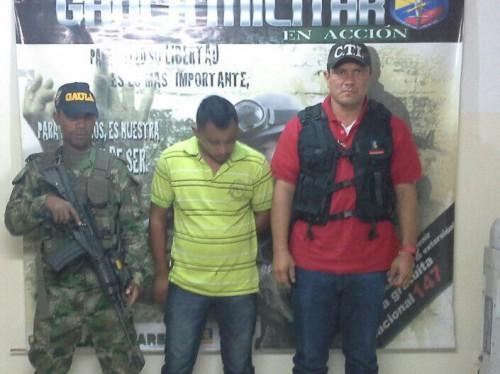 Ejercito captura a hombre que extorsionaba a familiares de desaparecidos en laGuajira.