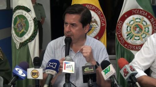 Cámaras de seguridad para Valledupar anunció Ministro delInterior