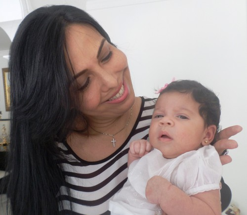 Rosa Elvira, la nueva nieta de DiomedesDíaz