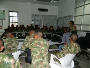 capacitación en el Batallón de Ingenieros de Valledupar 2