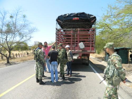 ICA  capacita a militares  para un efectivo control del  abigeato y el contrabando deanimales