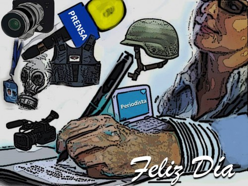 El día del periodistacolombiano