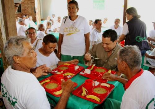 """La gobernación del Cesar dio inicio al programa """"Años dorados"""" en 75 comedores deldepartamento"""