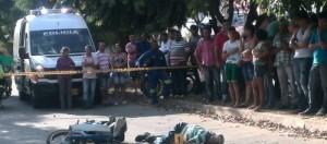 muerto en accidente en barrio los  mayales