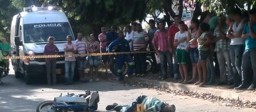 En accidente en Barrio Los Mayales, muriómotociclista