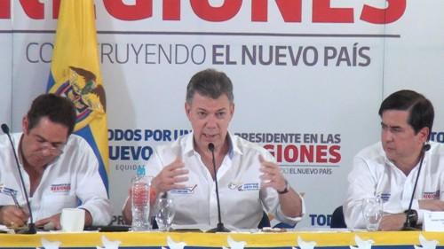 El presidente Santos presidió consejo de ministros enValledupar