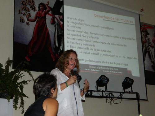 Para conmemorar el Día de la Mujer , la actriz Alejandra Borrero estuvo enValledupar