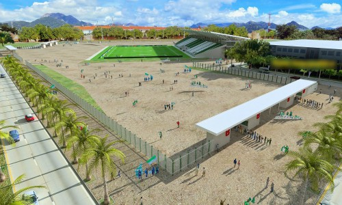 Asamblea del Cesar debatió atraso en la remodelación del estadio de futbol deValledupar