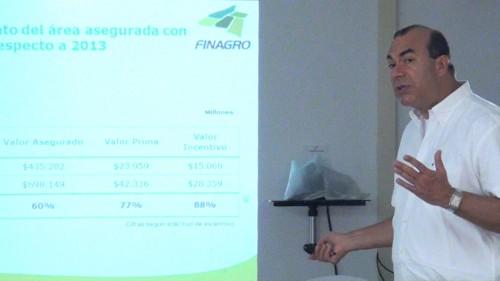 Fueron presentadas las ofertas del seguro agropecuario a productores delCesar