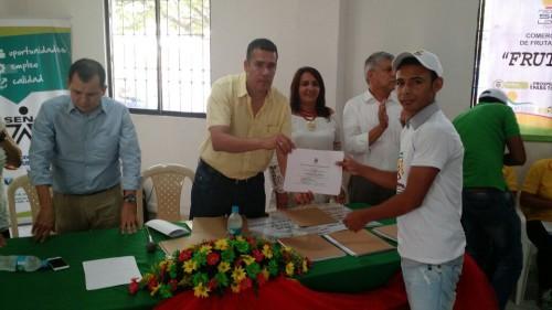 SENA certificó a 90 ex pimpineros de LaPaz