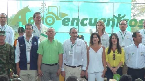En Valledupar, el Ministro de Agricultura inauguró el segundoAgroencuentro