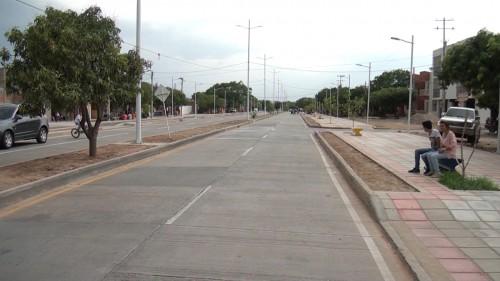 Fue entregada la avenida San Francisco Ciro Pupo en el municipio de LaPaz