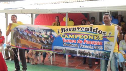Homenaje a niños vallenatos que ganaron torneo enFrancia