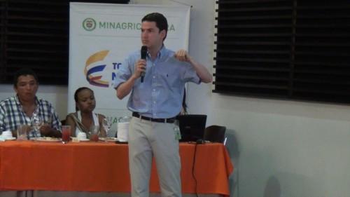 Arturo Dajud, Asesor de MinAgricultura se pronunció previo alAgroencuentro