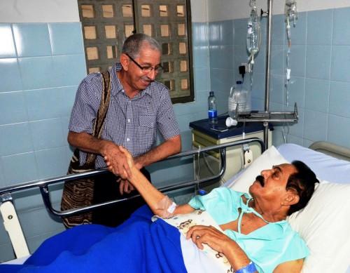 Tras intervención quirúrgica, el rey vallenato Miguel López, concedeentrevista