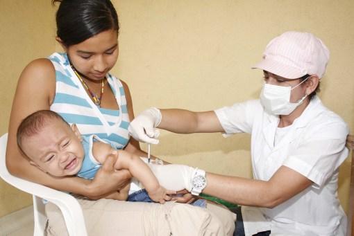 Jornada nacional de vacunación enValledupar