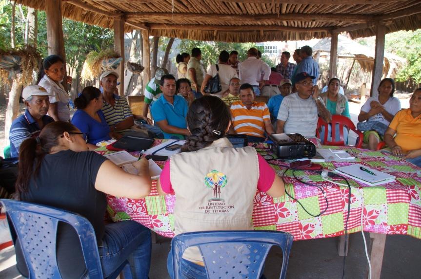 En zona rural de  San Alberto, Cesar, 90% de las tierras han sidorestituidas